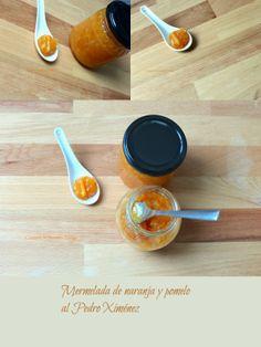 COCINANDO CON THERMOMIX MALAGA: Mermelada de naranja y pomelo al Pedro Ximénez