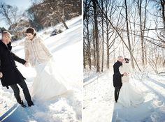 Swedish Winter Wedding - Photos by Emma Sandstorm