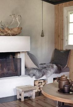 Norwegian cottage via ELLE Decorations