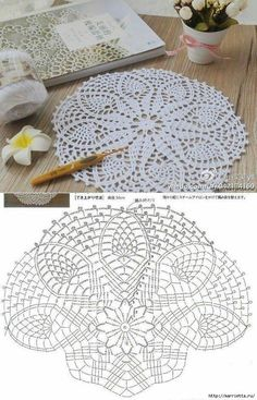 Crochet rug crochet carpet doily lace rug by eMDesignBoutique how to crochet shawl 1 This Pin was discovered by Moz Gorgeous Doesnt Look Like Patterns Crochet May The Miracle Oval Ma Rugs ndi crocheted: Maganizo a 25 + malingaliro opanga zinthu Free Crochet Doily Patterns, Crochet Doily Diagram, Crochet Circles, Crochet Motifs, Crochet Mandala, Crochet Chart, Thread Crochet, Crochet Flowers, Crochet Dreamcatcher