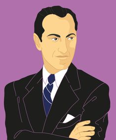 George Gershwin - Level 3 |George Gershwin was a Jewish-American composer, pianist, and painter, born on September 26, 1898, in Brooklyn, New York to parents Moise Gersowitz and Roza Broskina. They immigrated to the United States from Russia, fearing Nazi occupation. The family lived in Brooklyn, the Yiddish Theater District, and Harlem during George's lifetime. Rhapsody In Blue, Moise, Reading Lessons, July 11, September, Brooklyn, Broadway Shows, New York, Brain Tumor