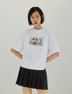 Lazy Oaf Partnered With 'Daria' For A Nostalgic Collaboration Oversized White T Shirt, Lazy Oaf, Mtv, Collaboration, Fashion Brands, Skirt Set, Street Wear, Cotton, How To Wear