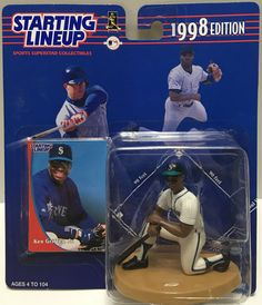 1991 Kenner Starting Lineup Headline Collection Seattle Mariners Ken Griffey Jr