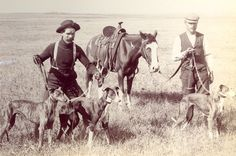 Whippets - coursing pictures from a meet up in Flandreau in 1899
