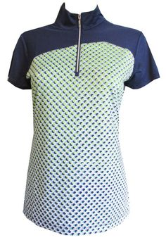 If you're in the market for some new outfits, consider our women's apparel! Shop this comfortable and stylish Good Sport (Inky Multi) EP New York Ladies & Plus Size Short Sleeve Golf Shirt from Lori's Golf Shoppe.