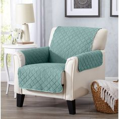 Great Bay Home T-Cushion Loveseat Slipcover