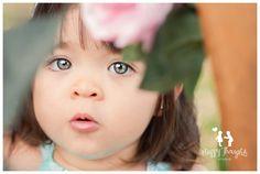 Cute Baby Girl! Flower Market inspired children Photography idea