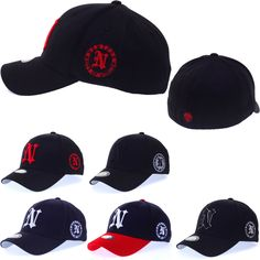 Mens Womens York City N Logo Flexfit Stretch Fit Caps Baseball Spandex Hats Adidas Cap, Fitted Caps, Hats For Men, Caps Hats, New York City, Stretches, Spandex, Baseball Caps, Major League