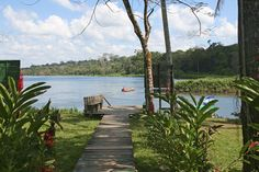 Entrance to Indio Maiz Nature Reserve in Rio San Juan || Entrada a la Reserva Indio Maíz en Río San Juan. NICARAGUA