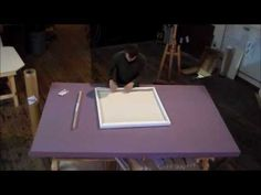 Want to ship large paintings for less? Use this collapsible canvas!