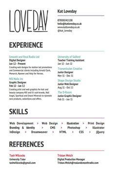Unique Resume Unique Resume Samples  21 Stunning Creative Resume Templates