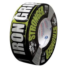 Intertape Polymer Group Iron Grip 1.88 in. x 35 yds. Aggressive All-Purpose Duct Tape, Black