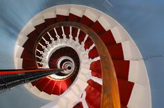 Buchan Ness Lighthouse staircase, Boddam, Aberdeenshire