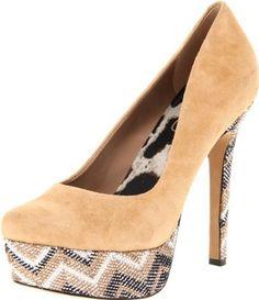 Amazon.com: Jessica Simpson Womens Waleo Platform Pump: Jessica Simpson: Shoes
