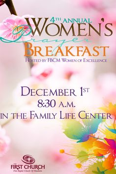 prayer breakfast themes - Google Search | women's ministry ideas ...