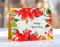 https://flic.kr/p/P44XF5 | Merry Christmas-001 | virginialusblog.blogspot.ca/2016/11/use-large-cling-stamp...