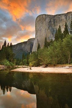 Yosemite National Park - Jud and I enjoyed this very scenery over a wonderful picnic in 2012.
