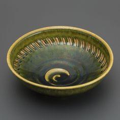 織部刻文鉢 Bowl with engraved, Oribe type2013