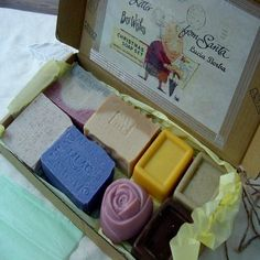 Handmade Special Eight Piece Variety Holiday Soap Gift Set by Natural Handcrafted Soap LLC, http://www.amazon.com/dp/B00AFG3HWM/ref=cm_sw_r_pi_dp_r7fGsb05T7DPK