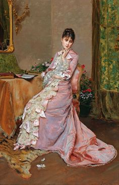 "spoutziki-art: "" Rogelio de Egusquiza - Der Brief, 1880 """