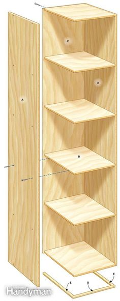 Garage Storage Tower - Step by Step: The Family Handyman