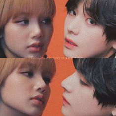 Lisa Manoban is the Main Character Kim Taehyung Funny, Jimin Jungkook, Bts Taehyung, Kpop Couples, Cute Couples, V Bta, Bts Girl, Blackpink And Bts, Ulzzang Couple