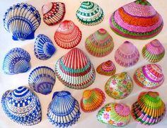 Es geht demnächst zum Meer? Nehmen Sie Muscheln mit! 12 kinderleichte Deko-Ideen mit Muscheln! - DIY Bastelideen