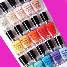 Fall into a world of color and catch all of these Mega Last Nail Colors at a #DollarGeneral near you! #exclusive #wetnwildbeauty