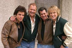 Paul Michael Glaser, Ben Stiller, Owen Wilson, and David Soul in Starsky & Hutch (2004)
