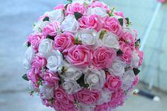 Topiaria Rosa e Branca