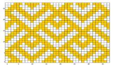 The Landry Pouch-Free Crochet Pattern — Meghan Makes Do Crochet Clutch Pattern, Tapestry Crochet Patterns, Crochet Pouch, Bead Loom Patterns, Crochet Art, Weaving Patterns, Filet Crochet, Crochet Cable Stitch, Crochet Stitches