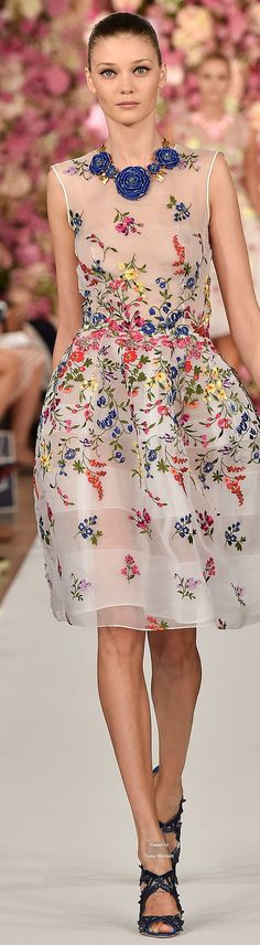 Oscar de la Renta Spring Summer 2015 Ready-To-Wear collection