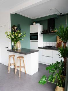 La verdure dans la cuisine est une top idée, ce serait encore mieux avec des plantes aromatiques