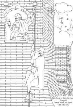 Bible Coloring Page's on Pinterest | Bible Stories ...