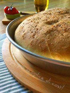 Focaccia+ripiena+pomodorini+e+mozzarella,+ricetta Mozzarella, Bread, Brot, Baking, Breads, Buns