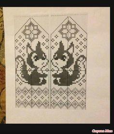 Схемки для варежек. Knitted Mittens Pattern, Knit Mittens, Knitted Gloves, Knitting Socks, Baby Knitting, Knitting Charts, Knitting Stitches, Knitting Patterns, Cross Stitch Charts