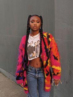 Black Girl Braids, Braided Hairstyles For Black Women, African Braids Hairstyles, Braids For Black Hair, Girls Braids, Quick Braided Hairstyles, Hairstyle Short, Hairstyle Ideas, Baddie Hairstyles