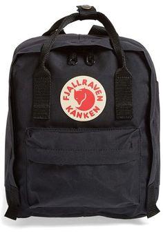 Fjällräven 'Mini Kånken' Water Resistant Backpack