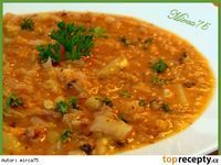 Cabagge Soup, Czech Recipes, Ethnic Recipes, Soup Recipes, Recipies, Yams, Weight Loss Smoothies, Curry, Food And Drink