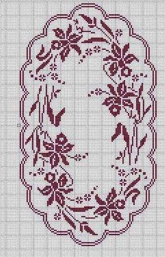 Crochet And Arts: Filet Crochet Wipes Crochet Table Runner Pattern, Crochet Edging Patterns, Filet Crochet Charts, Crochet Tablecloth, Crochet Motif, Cross Stitch Patterns, Thread Crochet, Crochet Yarn, Fillet Crochet