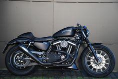 https://flic.kr/p/bmsZqi | CSC Harley-Davidson Sportster | CSC Harley-Davidson Sportster mit Remus Custom Exhaust Komplettanlage PowerCone, CSC Big Spoke Luftfilter mit Zulassung, verstellbare CSC Stummel und CSC Clutch Cover. Stand 01/12