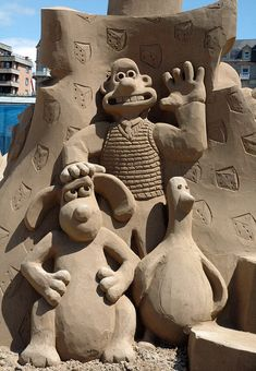 A little bit above our bog standard sand castle! Brilliant!