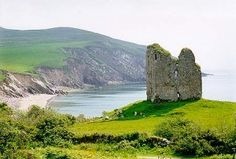 """Dingle Peninsula, located in southwest Co. Kerry, features steep, seaside cliffs, sandy beaches and rolling mountains. National Geographic Traveler once described the Dingle Peninsula as """"the most beautiful place on earth,"""" and Trip Advisor recently ranked the locale as the second best destination in Ireland."""