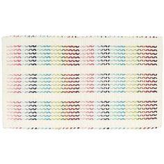 Cross Stitch Rainbow Area Rug   Wayfair