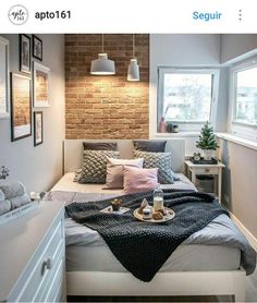 10 Enthusiastic Clever Tips: Basement Bedroom Remodel bedroom remodel on a budget furniture.Tiny Bedroom Remodel Spaces girls bedroom remodel built ins.Girls Bedroom Remodel Built Ins. Cozy Bedroom, Bedroom Decor, Bedroom Small, Narrow Bedroom Ideas, Small Bedroom Interior, Bedroom Furniture, Bedroom Themes, Bedroom Lighting, Bedroom Inspo