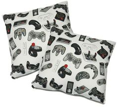 Video Game Controller Pillows
