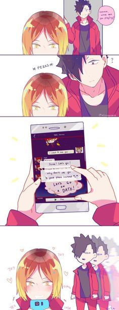 Kenma playing Mystic Messenger... I'm leaving || Haikyuu ♛