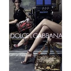 Dolce & Gabbana Ad Campaign Spring/Summer 2009 Shot #3 ❤ liked on Polyvore featuring ad campaign and mariacarla boscono