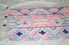 DIY :: Aztec Shirt