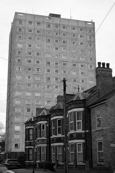 Lenton streets. Nottingham, January 2013.